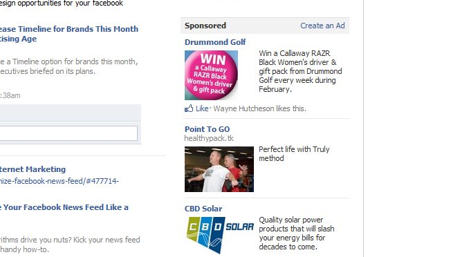 facebook advertising approach