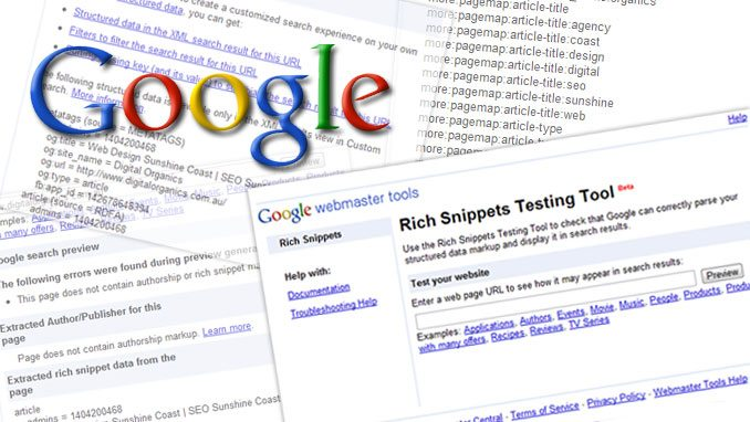 How to use Rich Snippets
