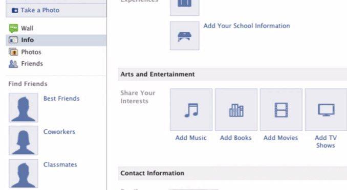 Facebook Profiles