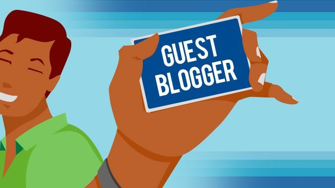 How to be a Guest Blogger