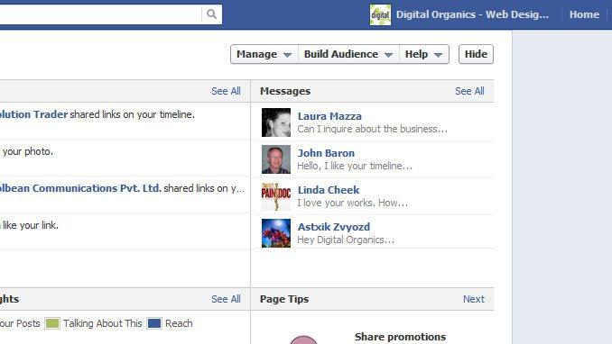 Facebook Admin Management