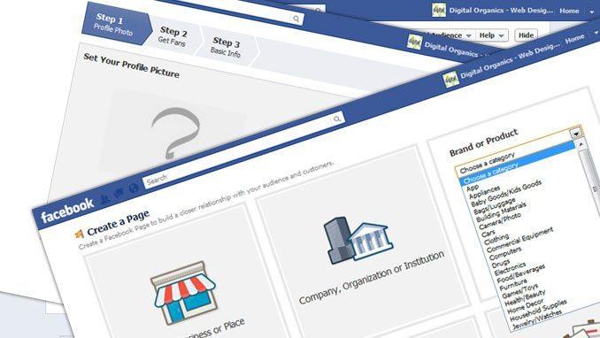 create a facebook timeline page