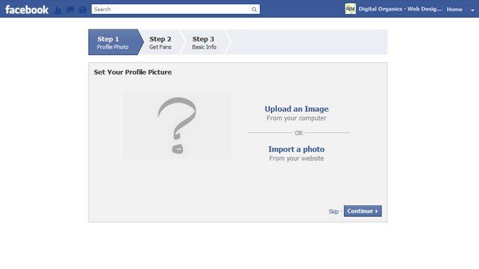 upload a profile image