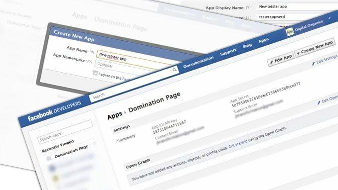 Create a Facebook Page Tab App