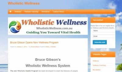 wholistic wellness website