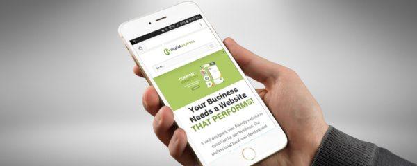 New in Internet Marketing, Mobile Web Design