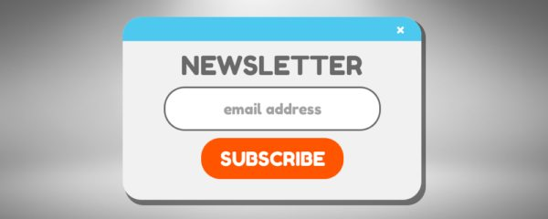 Using Pop-up Ads to build winning email list