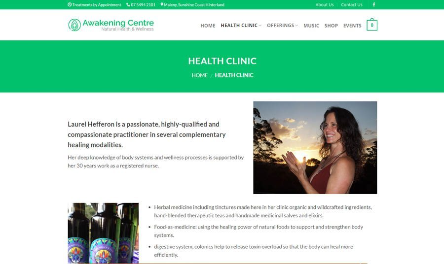 awakening centre health clinic